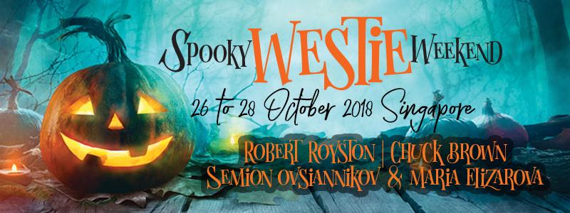 Spooky Westie Weekend