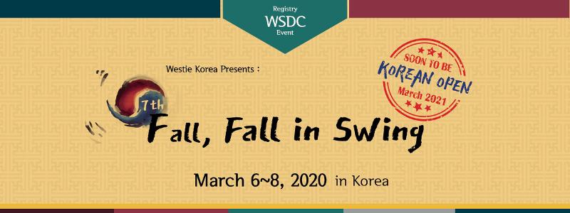 Fall, Fall in Swing 2020