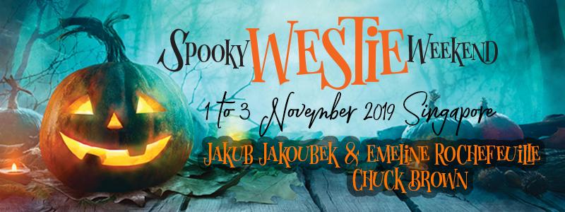 Spooky Westie Weekend 2019